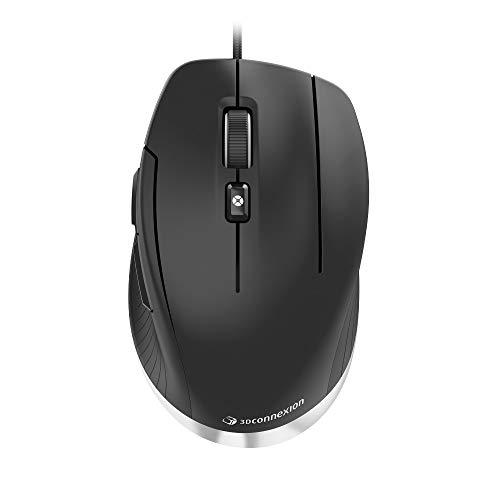 3Dconnexion CadMouse Compact (Kompakte Maus, optisch, USB, Rechtshänder)