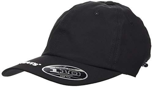 Levi's Unisex Embroidered Logo Brim Cap w/Cord Back Pull Ohrenschützer, Schwarz,...