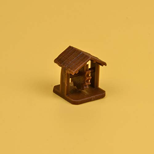 Root TRPG kerkers miniatuur bordspel 3D token Prop hout stenen kasteel schildwacht toren boom aambeeld schuur figuren accessoires, 1pc workshop willekeurig