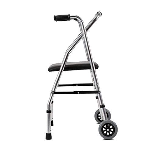 Andadores estándares y ligeros Andador CaminadorAndador For Andador Andador Plegable Hombre Viejo Antideslizante Ayuda For Caminar Andador Ligero Plegable Andador For Caminar Médico ⭐
