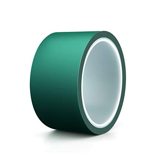 AIEX Epoxidharz Klebeband Pet-Band Mit Silikonkleber Hohe Temperaturbeständigkeit Leichtes Abziehen Epoxid-Trennband Für Flusstische (2 Zoll x 108 Ft)
