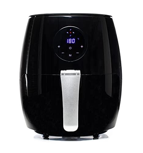Family Care Freidora sin Aceite 3,5L, Freidora Aire Caliente con 6 Programas, Air Fryer con Tiempo y Temperatura regulable, Pantalla LED Táctil, Sin BPA ni PFOA, 1500W