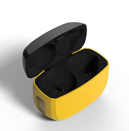 Estuche de carga de repuesto compatible con Jabra Elite 65t y Jabra Elite Active 65t (solo estuche del cargador, auriculares no incluidos), cubierta protectora de repuesto con batería incorporada