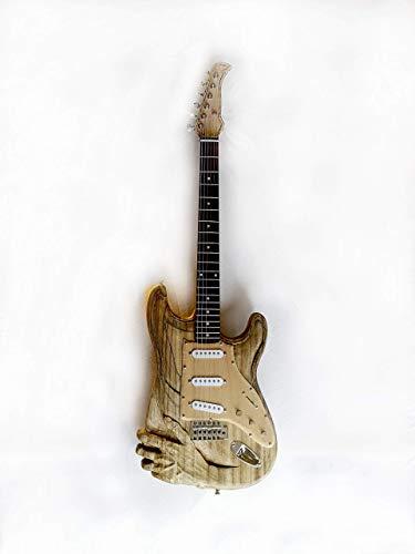 Guitarra Eléctrica Tallada
