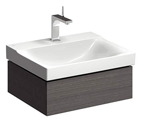 Keramag Xeno² Waschtischunterschrank 60 cm Holzstruktur Scultura Grau
