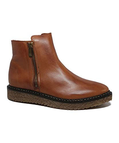 Regata feminina Hampton Eric Michael, Tan Leather, 5.5-6