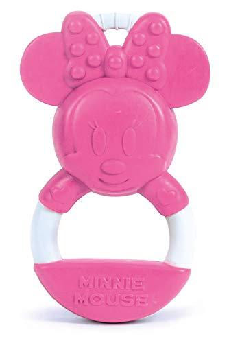 Clementoni - 17342 - Disney Baby Minnie Anello Mordicchioso - Gioco Dentizione E Massaggia Gengive Per Neonati, Bambina 0 - 18 Mesi