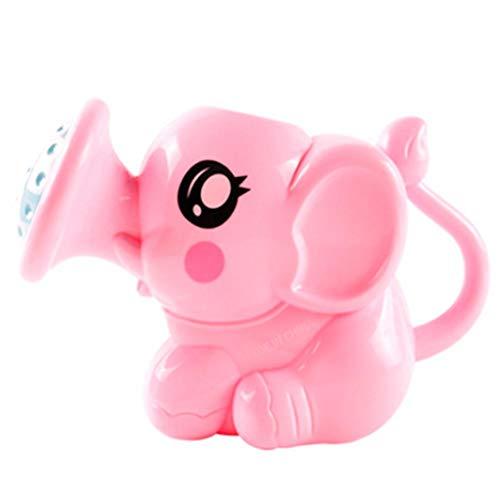 Sanmubo Baby Shower Spielzeug Kunststoff Gießkanne Badezimmer Spielzeug Wasser Auslauf Brunnen Sprühen Baby Badespielzeug Geburtstagsgeschenk für Kleinkinder, Jungen & Mädchen Zufällige Farbe