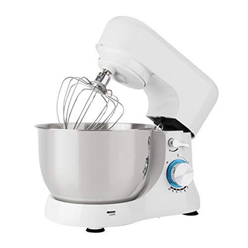 Batidora Amasadora Robot de Cocina Máquina de la mezcla de soporte de cocina eléctrica Máquina de mezclador de masa de 10 velocidades de acero inoxidable de 10 velocidades de acero inoxidable con ganc