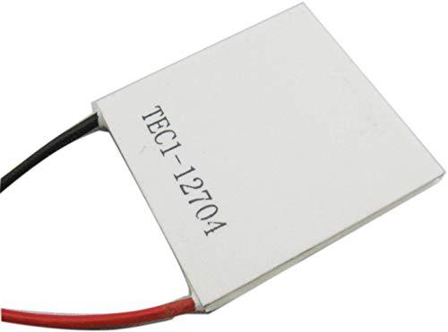 ARCELI 40mm40mm TEC1-12704 TEC Thermoelektrische Kühler Panel DC 12 V Thermo Elektrische Colling Generator Kühlung Peltier Plattenmodul Thermostat Kühler