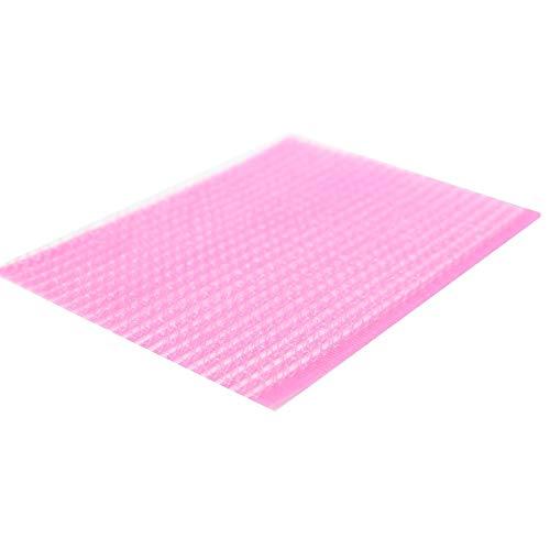 JUSTFOX - Bande Velcro magique pour fixer les cheveux - Rose