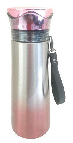 4everWithU Shandaar Shaded 304 Grade Insulated Flask/thermus with Strainer FZC#240