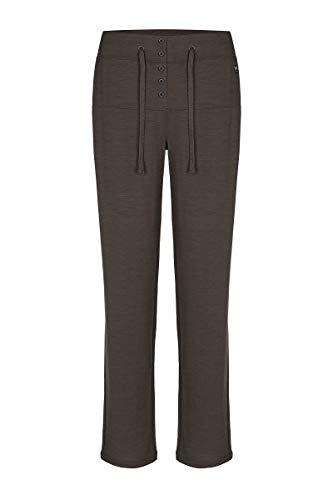 super.natural Comfort Pantalon de survêtement en Laine mérinos pour Femme XS Killer Khaki Melange
