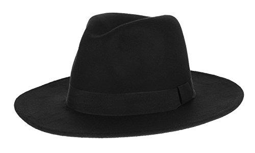 V-SOL GEMVIE Hombre Sombrero de Copa Jazz Vintage Fiesta