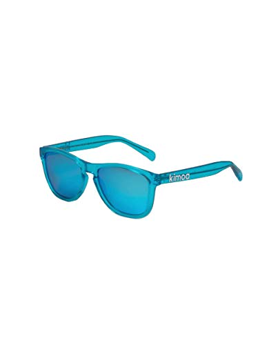 Kimoa - LA Gafas, Azul transparente, Normal Unisex Adulto