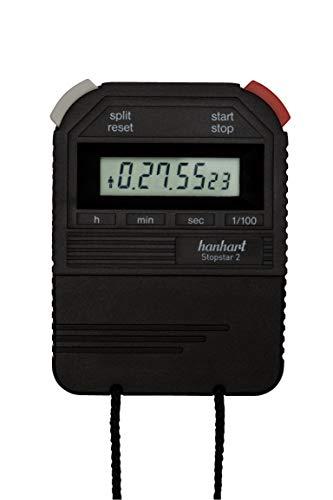 Hanhart Stopstar 2 1/100 Sek. elektronische Stoppuhr Sportuhr