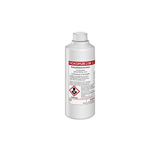 Tickopur J 80 U desoxidante Limpiador Limpieza ultrasónica 1l