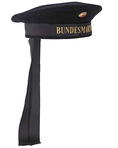 Mil-Tec BW Marine Tellermütze m. Abz. dk.blau Gr.L