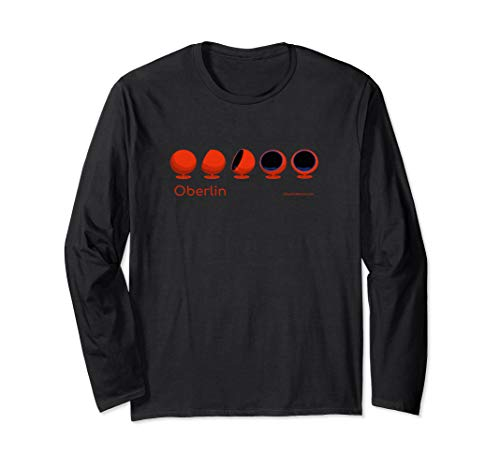 Oberlin Moon Chairs or Womb Chairs Library Alumni Long Sleeve T-Shirt