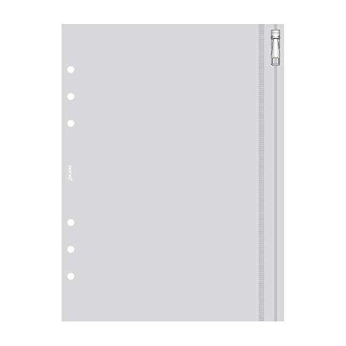 Filofax - Funda para documentos (A5, multiperforada, con cremallera)