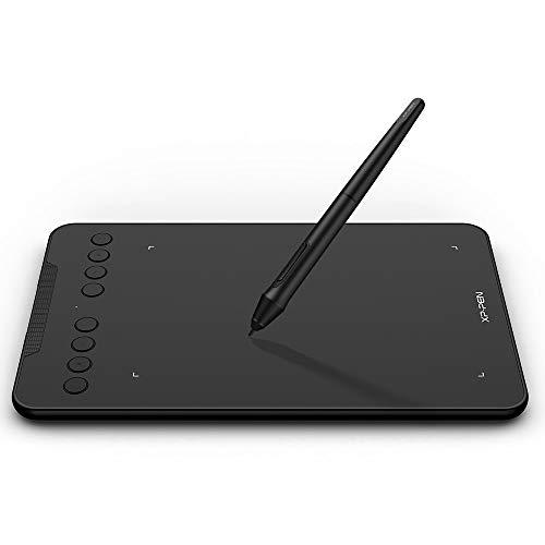 """XP-PEN Deco mini7 7\"""" Grafiktablett Pad zum Zeichnen Schreiben Unterschriften 60° Tilt für Windows, Mac und Android"""
