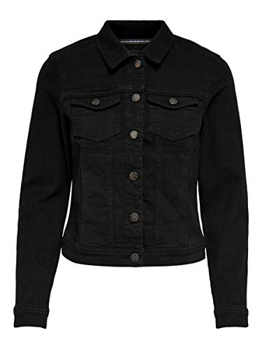 ONLY Female Jeansjacke Lässig SBlack Denim