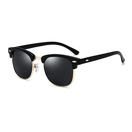 DIOXQEN Diseño clásico 0-0.5 -1.0 a -4.0 Gafas de Sol polarizadas con prescripción Hombres Mujeres Minus Grados Semi-Rimless Myopia Gafas de Sol para Uso en Exteriores