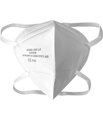 Mascarilla ultra plus+ ffp3 epi 5 capas proteccion premiun caja de 10 unidades modelo cv-45