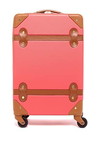 Diane von Furstenberg Women's Saluti 20' Spinner Suitcase, Sunset/Vachetta, One Size