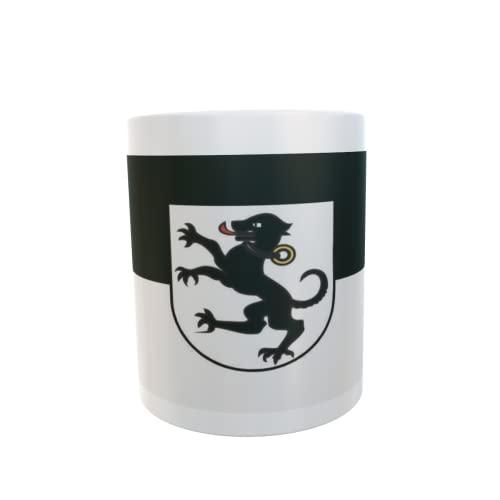 U24 Tasse Kaffeebecher Mug Cup Flagge Tettnang