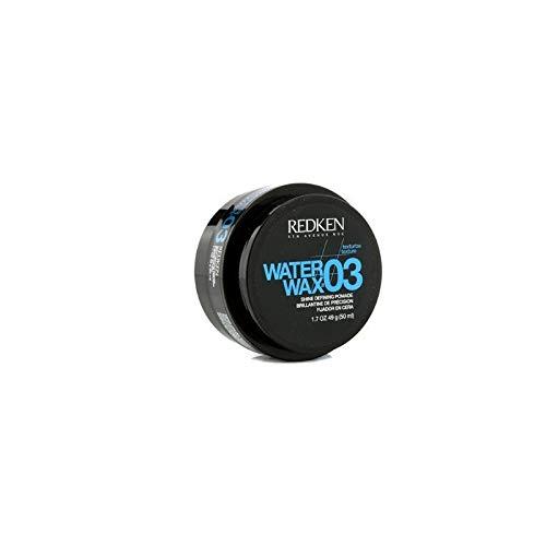 Redken 03 Water Wax Shine Defining Pomade, 1.7 oz