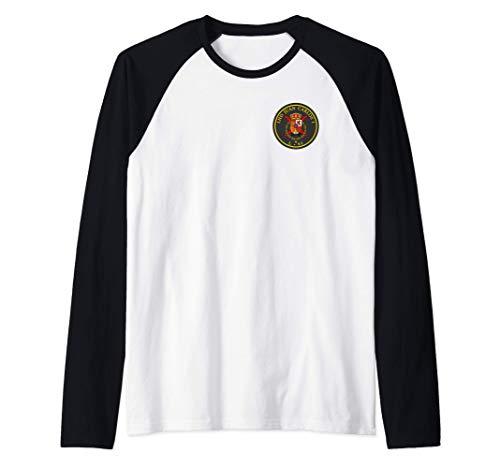 Juan Carlos I (L-61) Camiseta Manga Raglan