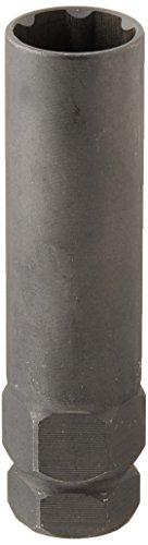 Steelman Pro 6-Spline 45/64-Inch Socket-Style Locking Lug Nut Key, Removes Spline-Style Aftermarket Lug Nuts, Durable, Thin-Walled