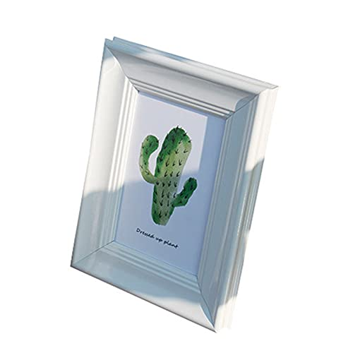 KAIHUI Plexiglass, Mdf Backplane, Retro Photo Frame, Can Be Hung And Fixed, Suitable For Home Decoration Store, Portrait Photo Frame With Bracket A4(21x29.7cm)