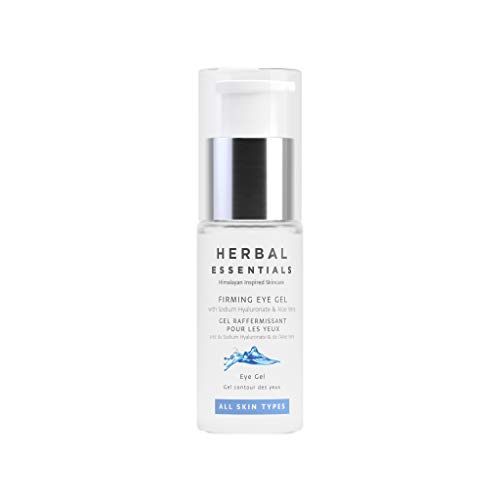 Herbal Essentials Firming Eye Gel With Sodium Hyaluronate & Aloe Vera, For All Skin Types, Clinically Proven To Add An Instant Hydrating Effect, Premium Skincare 15ml