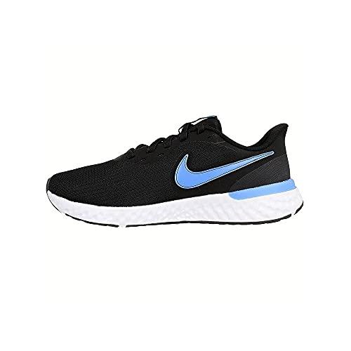 Nike Herren Revolution 5 Wide Laufschuh, Schwarz, Coast, 47.5 EU