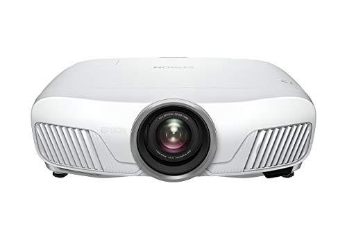 Epson EH-TW7400 4K - Proyector (UHD, 3LCD, 3840 x 2160p, HDR, 3D, 2400 lúmenes, contraste 200.000:1, cambio de lentes), color blanco