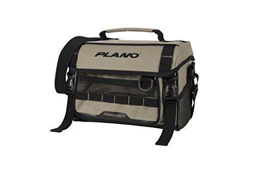 Plano PLAB36121 Weekend Series 3600 Size Softsider Tackle Bag, Tan, Premium Tackle Storage