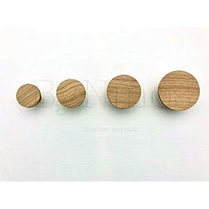 4er Set Wandhaken aus Holz – liebevoll handgefertigt