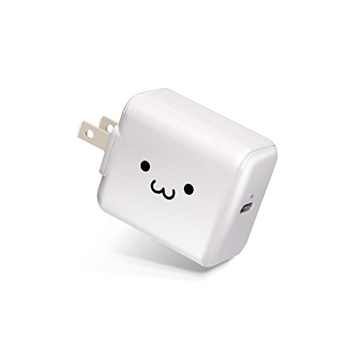 エレコム USB 充電器 ACアダプター コンセント [ スマホ /タブレット 対応 ] usb type c ×1ポート PD対応 18W 折畳式プラグ PSE適合 ホワイトフェイス MPA-ACCP02WF MPA-ACCP02WF