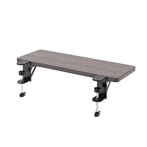 OUGIC デスクエクステンダー人間工学 キーボードトレイのクランプ 幅24cm長さ64cm Ergonomics Desk Extender Tray Clamp On Keyboard Drawer Table Mount Armrest Shelf Stand Slide Computer Elbow Arm Support