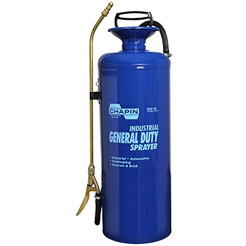 Chapin 1480 Industrial 3.5-Gallon Funnel Top General Duty Professional, Blue