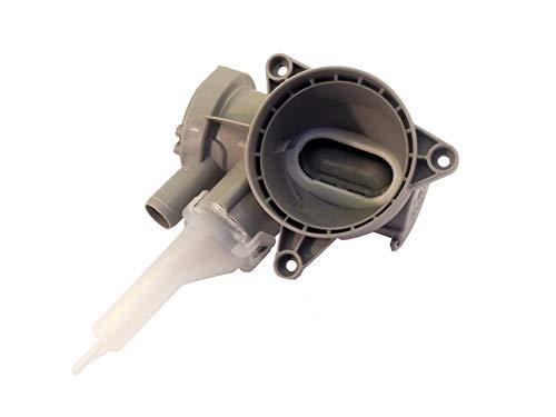 Cuerpo de bomba + filtro + cámara de compresión para lavadora 140048261048 Arthur Martin, Electrolux, AEG, Zanussi