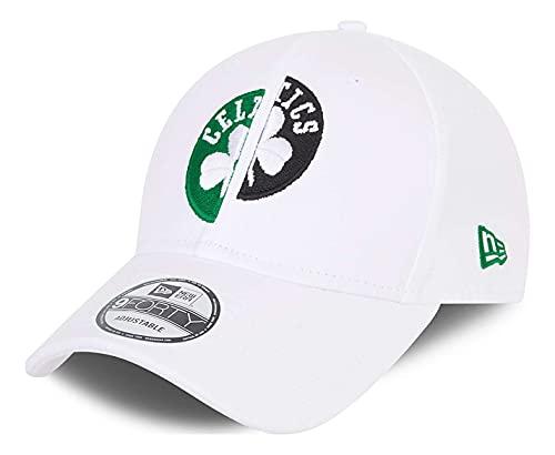 New Era - Gorra NBA Boston Celtics Half 9Forty Strapback -...