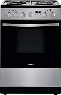 Frigidaire FFEH2422US 24 Inch Stainless Steel Electric Freestanding Range