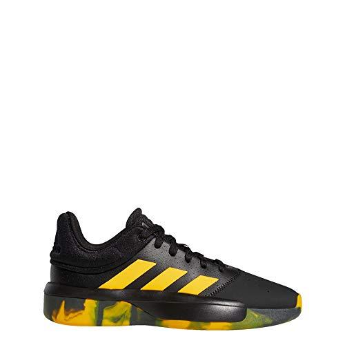 Adidas Pro Adversary Low 2019, Zapatillas de Baloncesto Hombre, Multicolor (Negbás/Oroact/Tieley 000), 51 1/3 EU