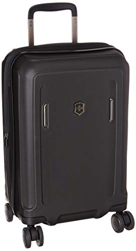 Victorinox Werks Traveler 6.0 Hardside Spinner Luggage, Black, Carry-On, Frequent Flyer (21.7')