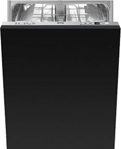 Smeg STL825A-2 Semi intégré 13places A+++ Lave-vaisselle semi-intégré Noir Taille complète 60 cm Argent Boutons 13 couverts