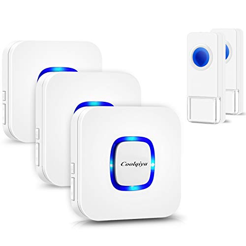 Coolqiya Wireless Doorbell Chimes