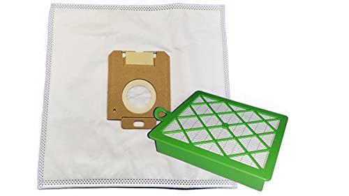 10 bolsas de aspiradora con filtro higiénico para AEG Electrolux AVC 1162